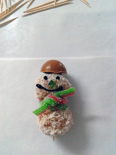 Snežaki - sladice brez peke - okusne dobrote