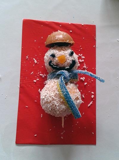Snežaki - sladice brez peke - Smejko :)