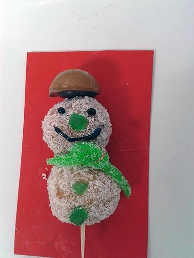 Snežaki - sladice brez peke - Smeško :)
