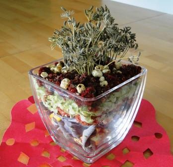 Romantična darila - zimski potpuri