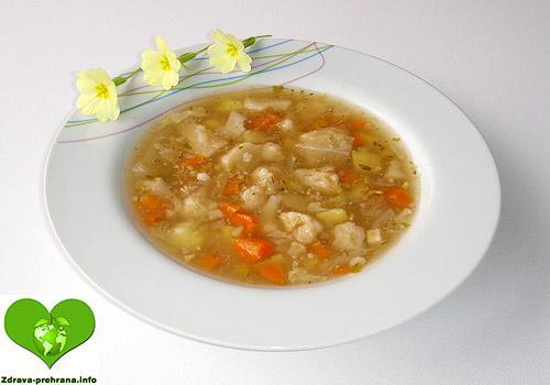 Cvetačna juha