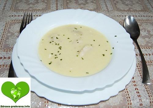 Ribja juha z vitkim somom