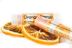 Hiša nature - balzam za ustnice z okusom pomaranče